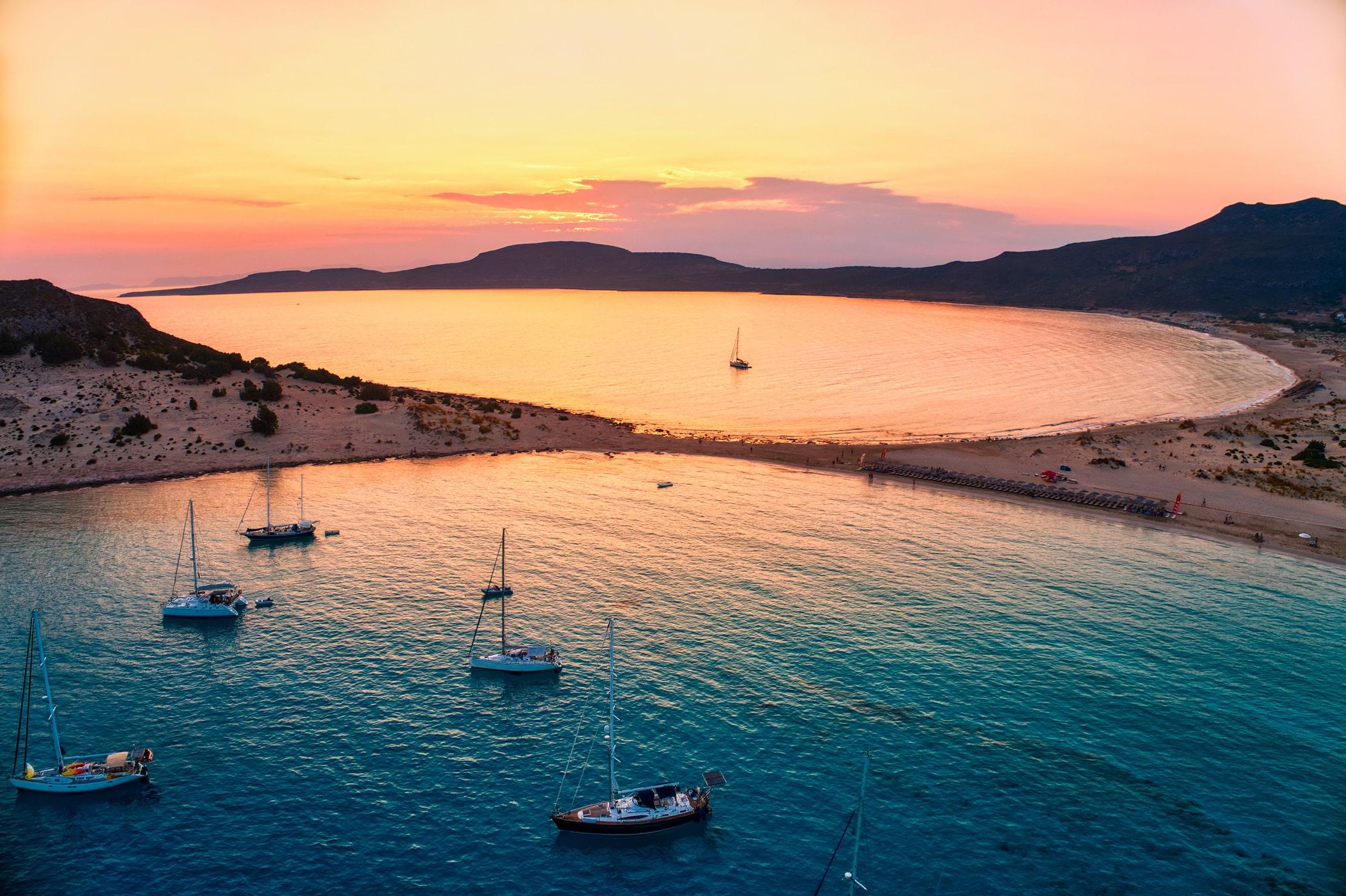 bigstock-Aerial-View-Of-Simos-Beach-At--348508603