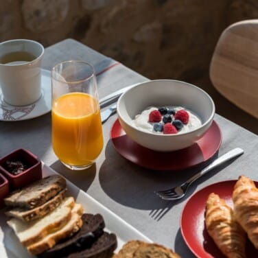 Executive Suite Balcony Breakfast